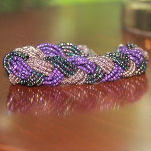 Amethyst inspired bracelet